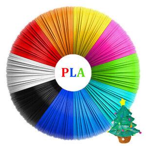 20 Colors 3D Pen Printer PLA Filament Refills High Precision 1.75mm 323 Feet