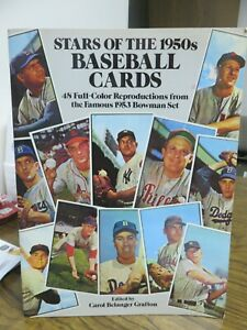 STARS OF THE 1950's BASEBALL (REPRODUCTION) CARDS (1985)