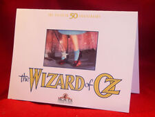 Invitation card for the 50th Anniversary Party of The Wizard of Oz film