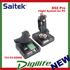 Saitek X52 PRO Flight Control System Joystick for PC Gaming Logitech G