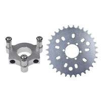 32T Sprocket Adapter Fit 415 Chain 49cc 50cc 66cc 80cc 2 Stroke Motorized Bike-