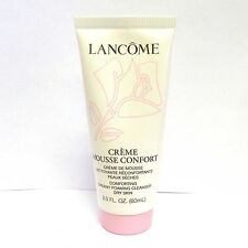 Lancome Creme Mousse Confort Foaming Cleanser Dry Skin 2 Oz