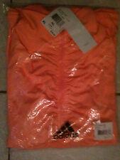 New adidas Outdoor Ultimate Half Zip Sports Fleece Jacket Orange Women's XL