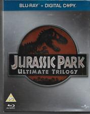 JURASSIC PARK ULTIMATE TRILOGY GENUINE BLU RAY DVD BOXSET + DIGITAL COPIES VGC