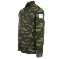 karrimor mens camo zip up jacket long sleeve size: small  *10