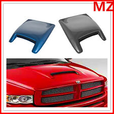 For Dodge Ram Charger Mustang Camaro Universal ABS Paintable Hood Scoop