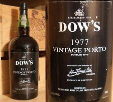 1977er Dow's Vintage Port  -  MAGNUM  -  TOP  *****