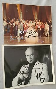 """1977 Broadway """"The King and I"""" photos signed Yul Brynner, Constance Towers"""