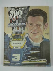 1981 Indianapolis 500 Hardbound Hungness Yearbook Bobby Unser Penske Racing