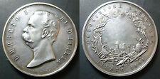 ESPOSIZIONE NAZIONALE MILANO 1881 MEDAGLIA UMBERTO I