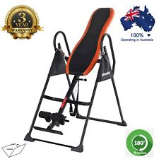 180° ADJUSTABLE GRAVITY MASSAGE INVERSION TABLE DELUXE PADDED HEAVY DUTY WORKOUT