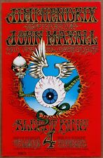 Jimi Hendrix Flying Eyeball Rick Griffin Vintage Original 1968 2nd Print Poster