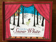 Snow White, by Jane Ray - 2009 - 1st Ed., 3 Dimensional Theater, Hardcover Book