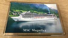 MSC Cruises MSC MAGNIFICA Large Fridge Magnet Cruise Ship Southampton in Norway