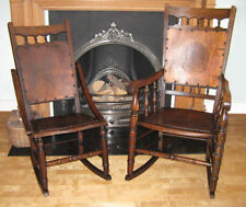 Wooden Edwardian Chairs (1901-1910)