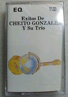Exitos de Cheito Gonzalez y Su Trio EQ-504 1985 Cassette Sealed