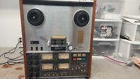 TEAC A-3340S Reel-to-Reel Quad Tape Deck in Great Working Condition See Video!