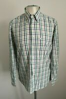 Mens Barbour Check Smart Casual Long Sleeved Shirt - Size Medium