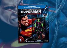 Superman Unbound - Blu Ray + Brainiac Figure Best Buy Exclusive SEALED