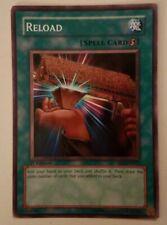 Yugioh TCG Reload Spell Card 1st Edition SD2 EN023 LP