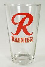 Super Rare Vintage RAINIER BEER Pint Glass Seattle, WA. Hard to Find!