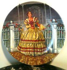 Melanie By Raymond Kursar vintage decorative plate numbered