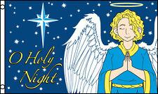 """O HOLY NIGHT"" flag 3x5 flag poly"