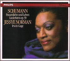 Jessye Norman: Schumann Donne Amore e Vita op.42 canzoni CERCHIO op.39 Gage CD 75