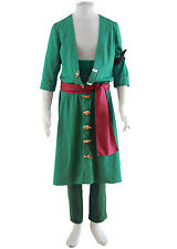 ONE PIECE Cosplay Costume Roronoa Zoro 2nd Any Size