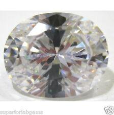 10.0 x12.0 mm 5.00 ct OVAL Cut Sim Diamond, Lab Diamond WITH LIFETIME WARRANTY