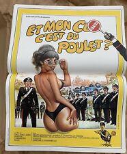 affiche poster cinéma érotique Comédie ET MON CUL C'EST DU POULET! 40x60 Neuve