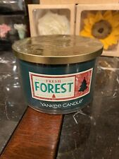 Yankee Candle 18oz Jar Fresh Forest Scent & 3 Wicks
