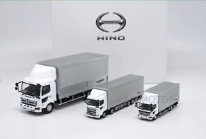 HINO RANGER PROFIA Diecast Metal Car Truck Trailer Container Model 3 units set