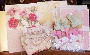 ANNA GRIFFIN DESIGN WATERCOLOR FLORAL DECOUPAGE CARD MAKING KIT BRAND NEW