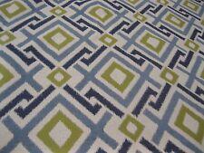 Fabricut Fabrics Pattern Archetype Color Cyan 1 Yd x 56 In Geometric Upholstery