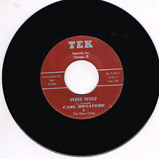 CARL BONAFEDE - WERE WOLF / STORY THAT TRUE (Wild 1950's Rockabilly Jiver) repro
