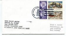 1976 USNS Sealift Arctic Marine Transport Lines New York Polar Antarctic Cover