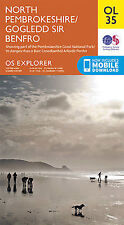 OL35 North Pembrokeshire Ordnance Survey Explorer Map OL 35