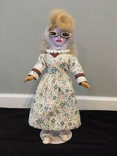Ooak Creepy Horror Doll Drag Queen Juno Birch Alien Queen