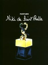 Publicité ancienne Parfum Niki de Saint Ralle non parfumé