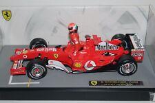 "1:18 Schumacher Ferrari F2004 ""Italian Flag Helmet"" Umbau OVP"