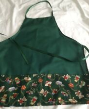 KIDS CHRISTMAS APRON AGES 3-8years *EMBROIDERED FIRST NAME FREE!*