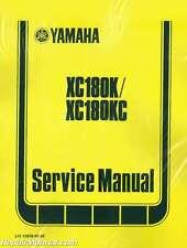 1983-1985 Yamaha Xc180 Riva Scooter Service Manual