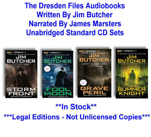 The Dresden Files Audiobook Collection - Jim Butcher - BEST BUY