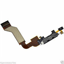 iPhone 4S USB Charging Charger Port Dock Block Connector Flex Cable  Black