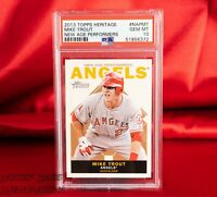 PSA 10 2013 Topps Heritage New Age Performers MIKE TROUT GEM MINT | POP 37! RARE