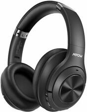 New listing Mpow H21 Bluetooth 5.0 Headset Active Noise Cancelling Mic Over Ear Headphone