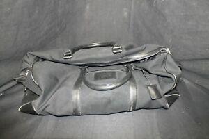 Coach Black Nylon Gym Bag Weekender Luggage -A6