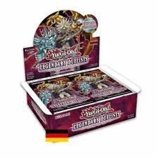 Yugioh  Legendary Duelists Rage of Ra  Booster Display Deutsch 1. Auflage  OVP