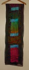 Hand Made in Australia Nuno Felt and Silk Wrap